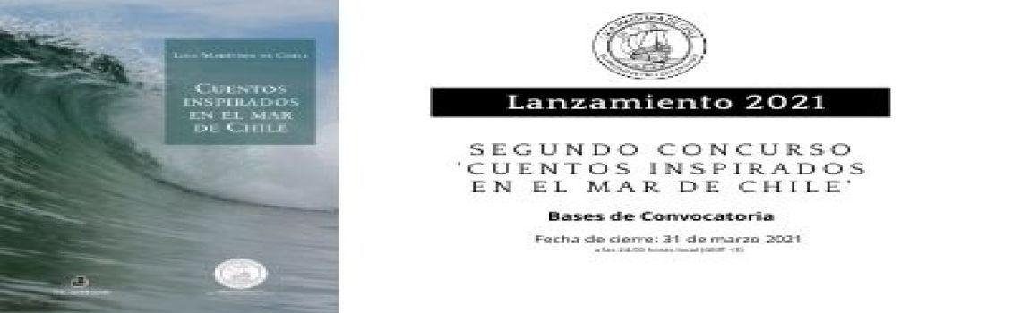Liga Marítima de Chile lanza Segundo Concurso Literario 'Cuentos Inspirados en el Mar'