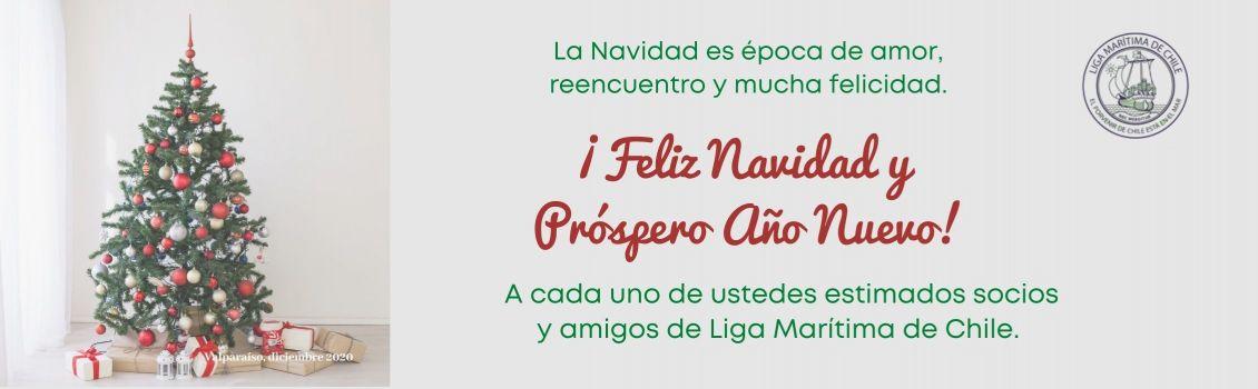 Presidente de Liga Marítima de Chile entrega su Saludo Navideño